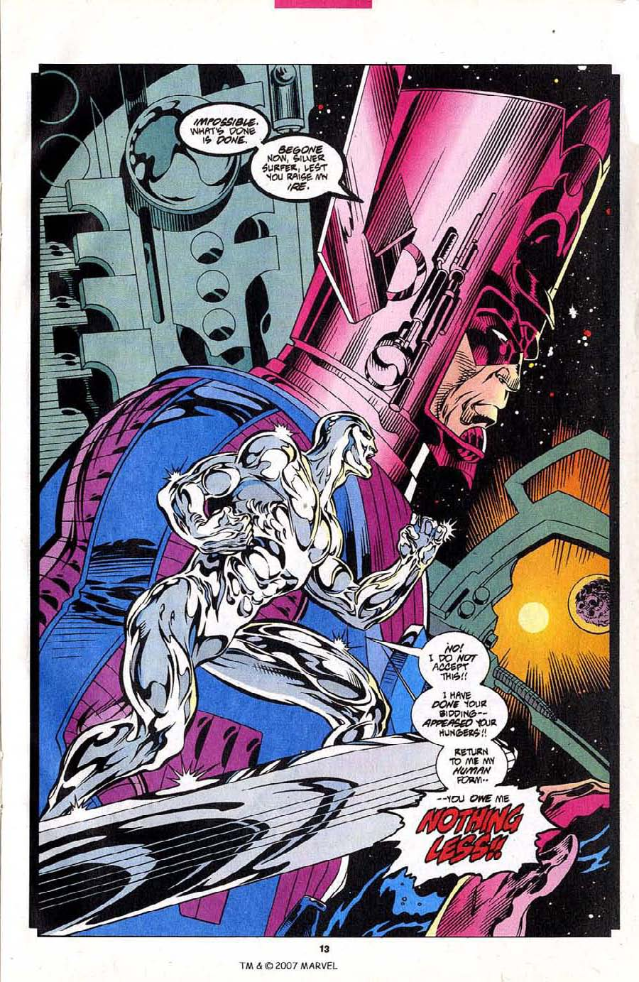 Read online Silver Surfer (1987) comic -  Issue #102 - 15