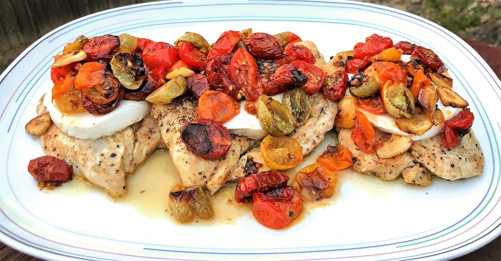 Gourmet Girl Cooks: Pan Seared Chicken Topped with Fresh ...