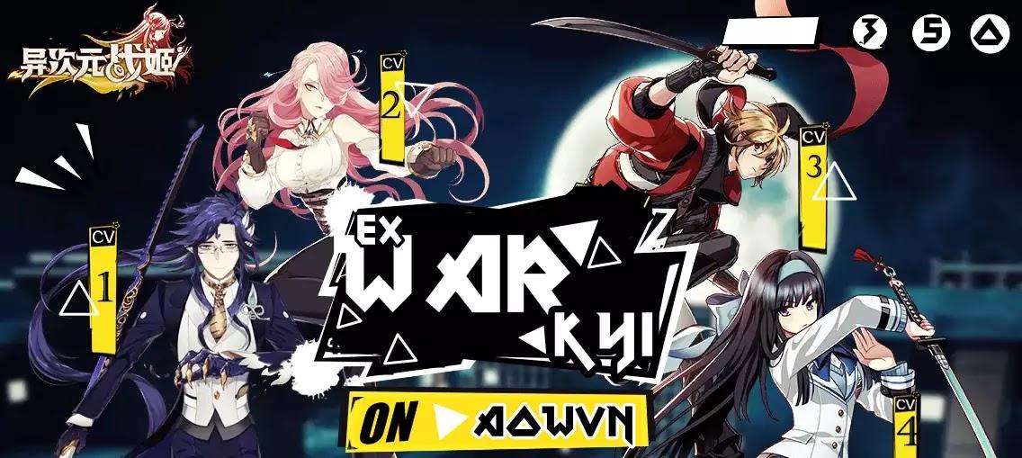 AowVN - [ ONLINE ] Extradimensional War Kyi | Android & IOS - Game anime chặt chém cực hay + Update cách đăng kí game