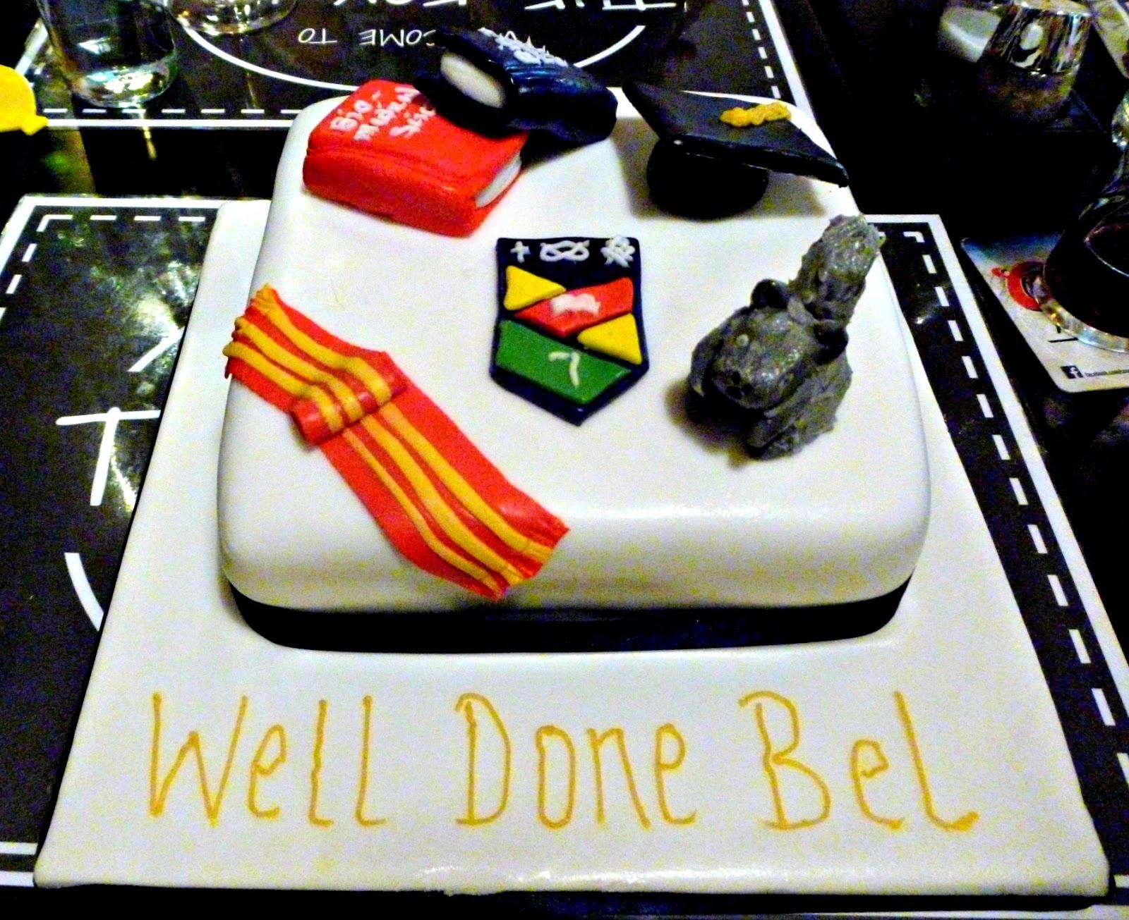 keele university graduation cake