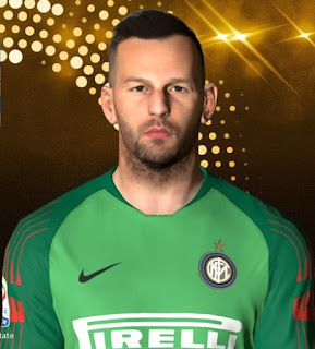 PES 2017 Faces Samir Handanović by Facemaker Ahmed El Shenawy