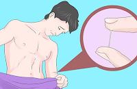 Luka pada alat kelamin atau di dalam dan di sekitar mulut