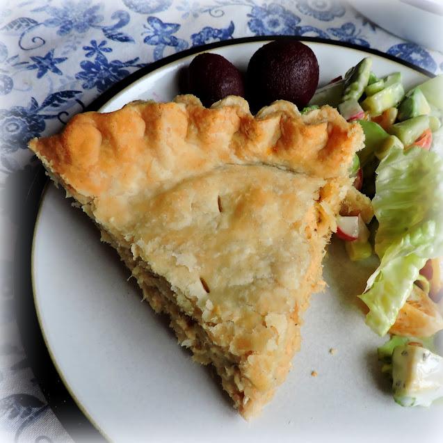 French Canadian Salmon Pie