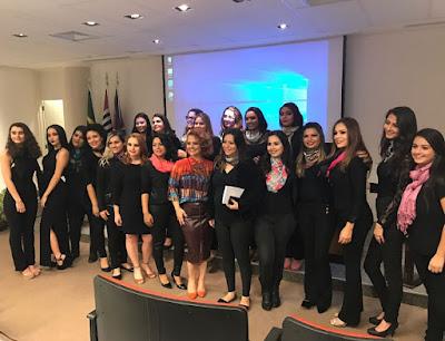 Projeto de alunas do Senac Registro-SP realça  a essência de diferentes tipos étnicos
