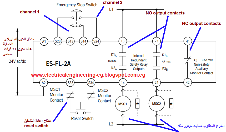 Abb Safety Relay Wiring Diagrams on