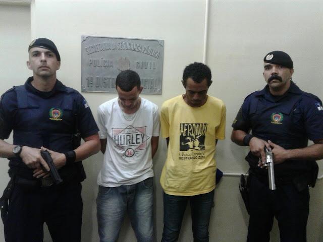 ROMU de Santo André detém elementos egressos do sistema penitenciário após praticarem roubo pela área central