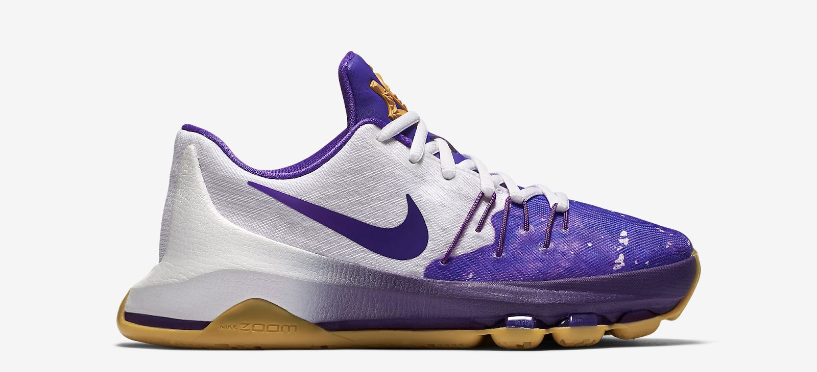 ... nike kd 8 gs peanut butter jelly white fuschia flash mulberry hyper  grape release reminder