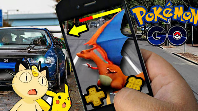 Pokemon GO and Cars
