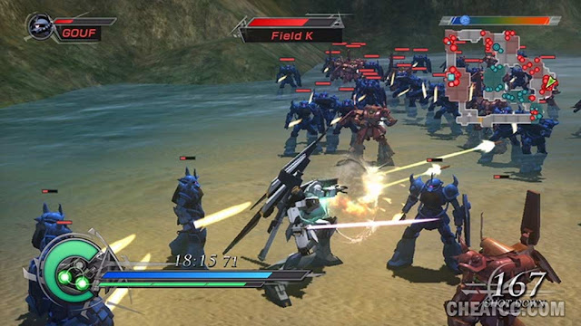 Dynasty Warriors Gundam 2 PS2 GAME ISO Gameplay 1