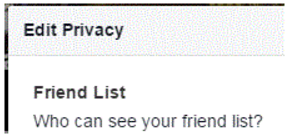 How Do I Hide My Friends List On facebook