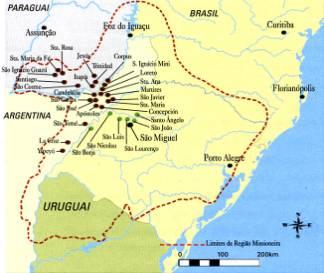 Guerras Guaraníticas no Brasil Colonial
