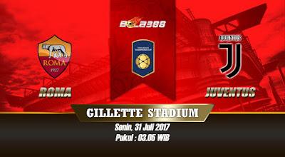 Prediksi Skor International Champions Cup, Roma vs Juventus 31 Juli 2017