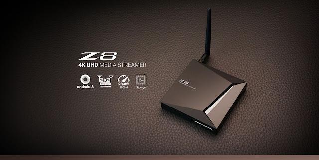 The New Formuler Z8 4K (IPTV/OTT)