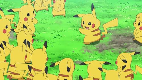Pokemon Sol y Luna Capitulo 91 Temporada 20 Es un brote de Pikachu, el valle de Pikachu