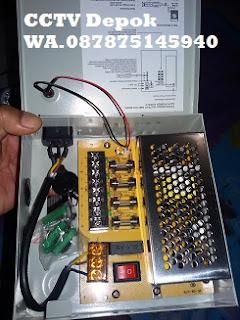 CCTV, CCTV Depok, Power Suplay Box