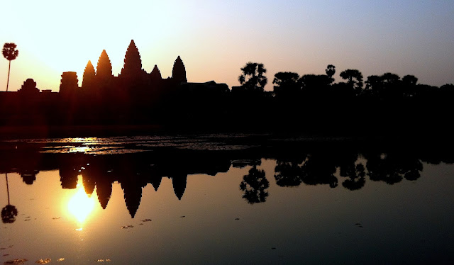 Sunrise at Angkor Wat, Cambodia