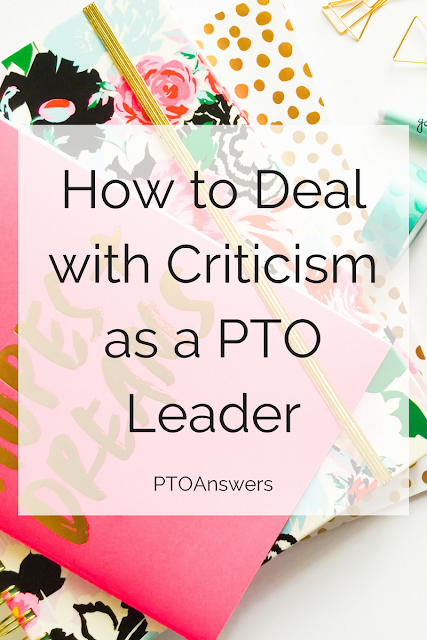 How to Deal with Criticism as a PTO Leader