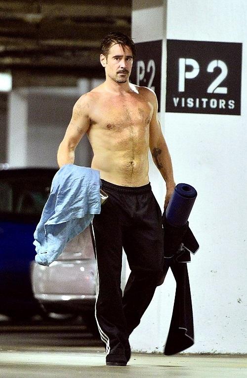 VJBrendan.com: Colin Farrell Leaving a Workout Class in ...