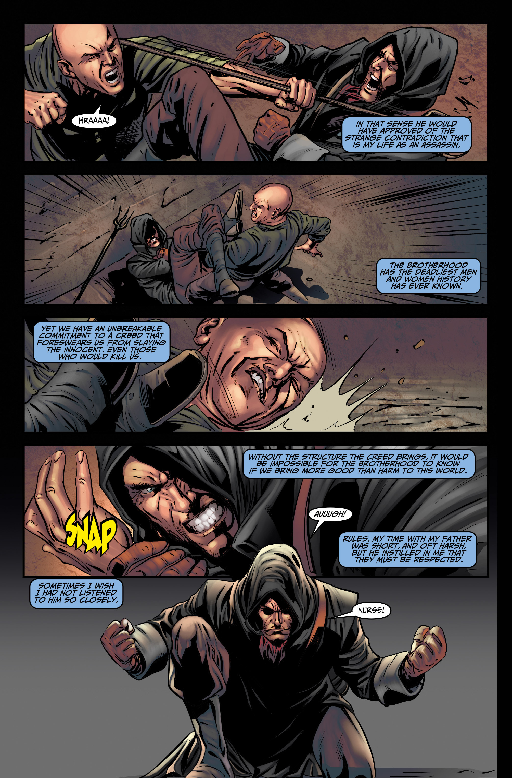 Read online Assassin's Creed (2015) comic -  Issue #3 - 6