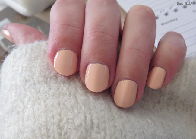 vernis naturels nude experience mayfair swatch couleurs nude