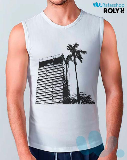 Camiseta Cawley 6557 Roly Hombre Tirantes Ajustada