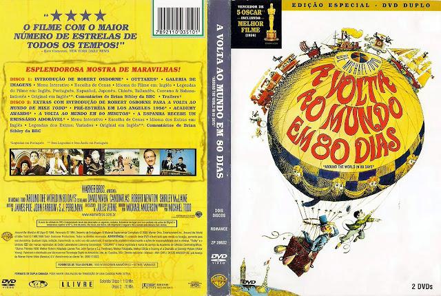 Capa DVD A Volta ao Mundo em 80 Dias