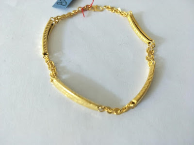 Gambar Perhiasan Gelang Emas Asli Kadar 70% Model Mocca Baru