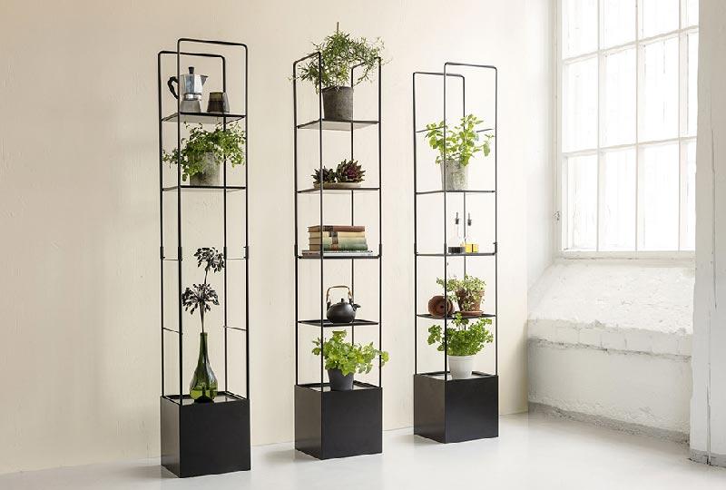 supporti per piante per spazi ridotti