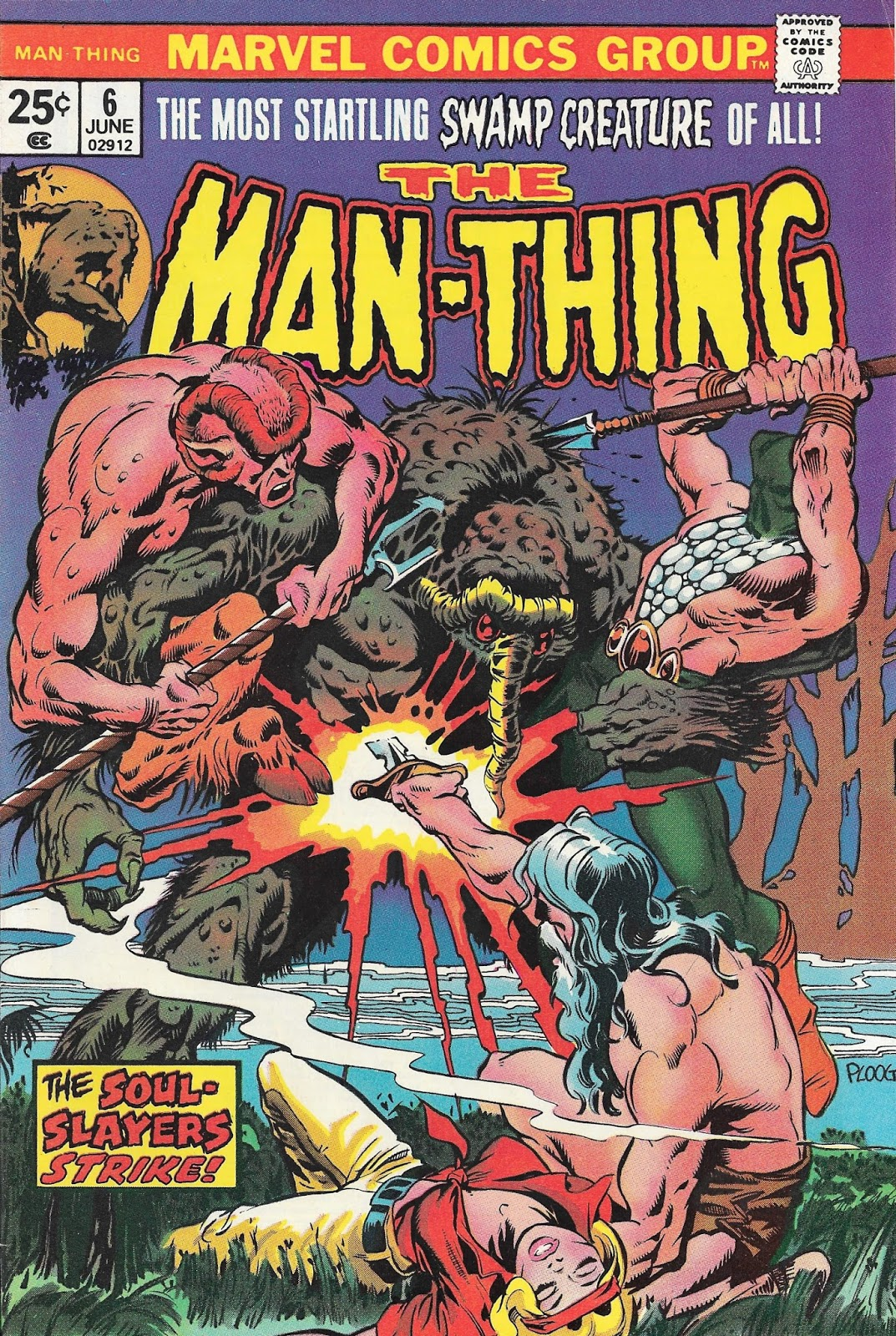 Bronze Age Babies Night Of The Laughing Dead Man Thing 5 And 6