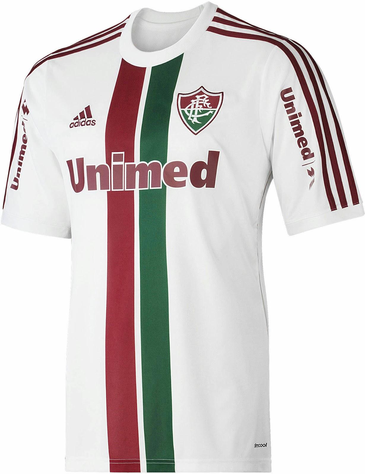 Camisa Dryworld Fluminense I 2016 Jogador - FutFanatics