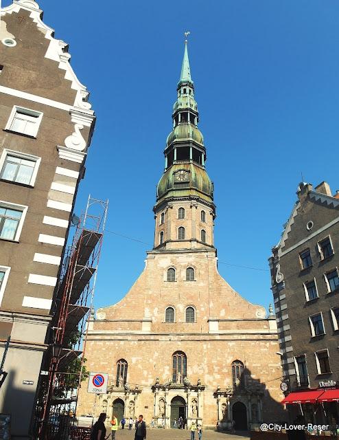 Riga - St:Peterskyrkan