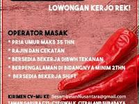 Lowongan kerja Restaurant Sesambelan Nusantara