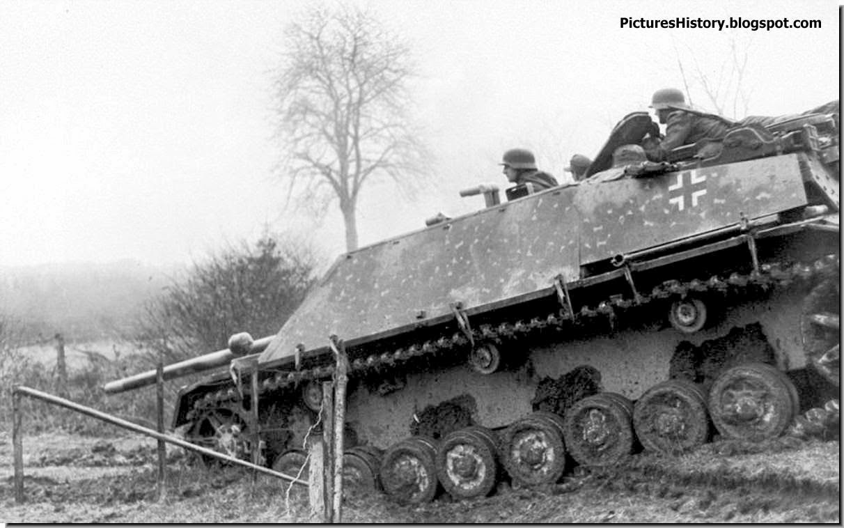 Waffen SS Jagdpanther Ardennes january 1944
