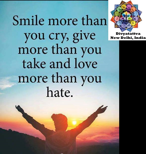 Divyatattva Positive Quotes Inspiration Motivation Giving Smile Custom Quotes On Smile
