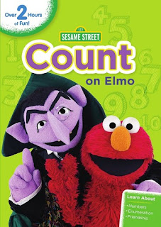 Enter the Sesame Street Count On Elmo DVD Giveaway. Ends 7/29