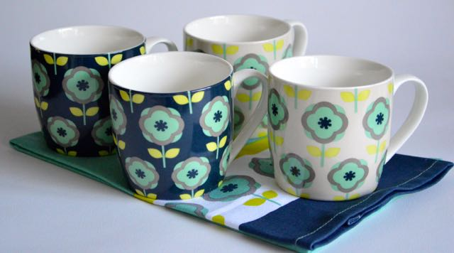 Ella Textiles and Mugs by Premier Housewares