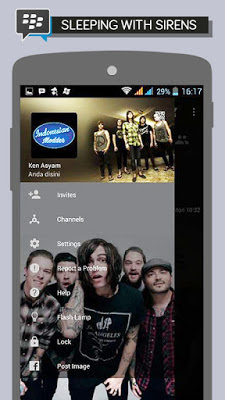 BBM Sleeping With Sirens V2.11.0.18 Apk