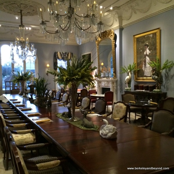 Carriage House restaurant at Houmas House Plantation and Gardens in Darrow, Louisiana