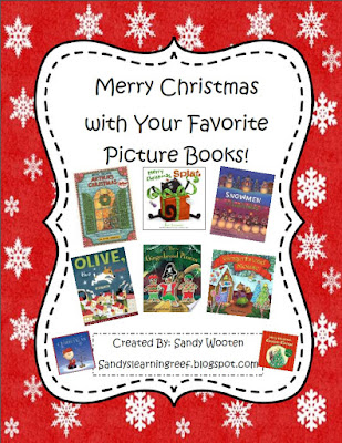 https://www.teacherspayteachers.com/Product/Merry-Christmas-with-Your-Favorite-Picture-Books-1022084