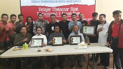 IWO Sulsel Ajak Pelajar Makassar Bijak Bermedsos