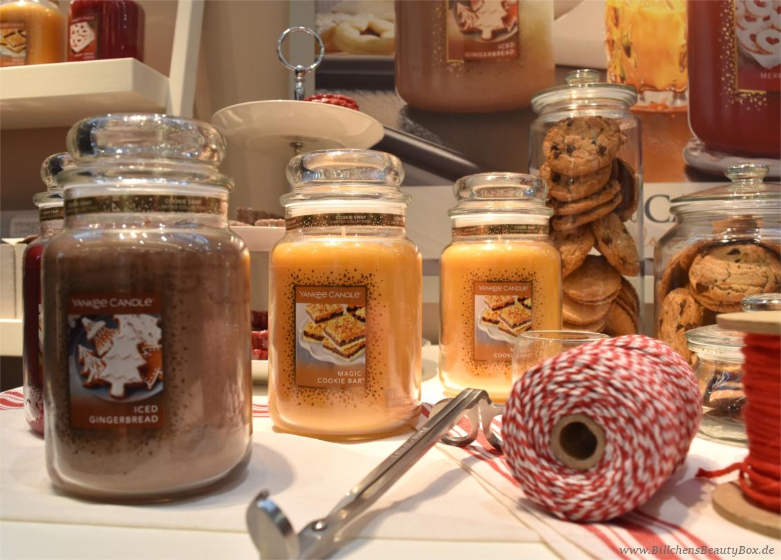 Yankee Candle - Cookie Swap Limited Edition 2017 - Düfte und Duftbeschreibungen