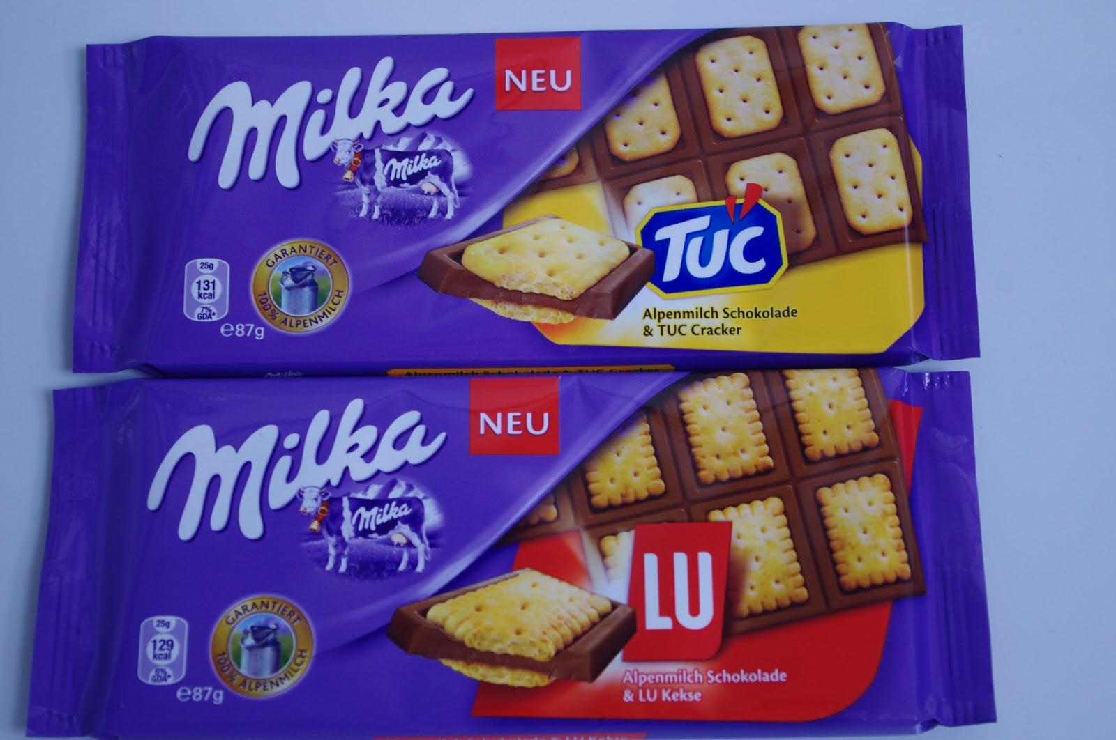 Milka Lu Schokolade