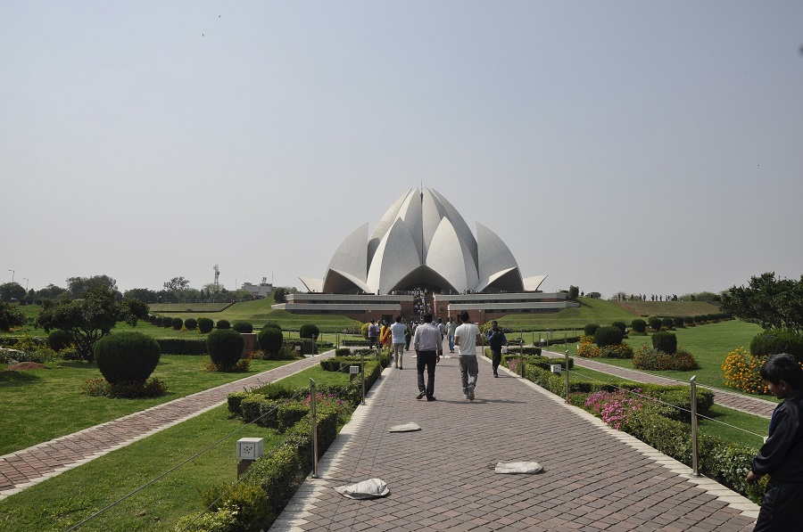 Lotus Temple, India - One Of The Major Attractions Of Delhi