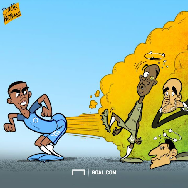 Gabriel Jesus cartoon