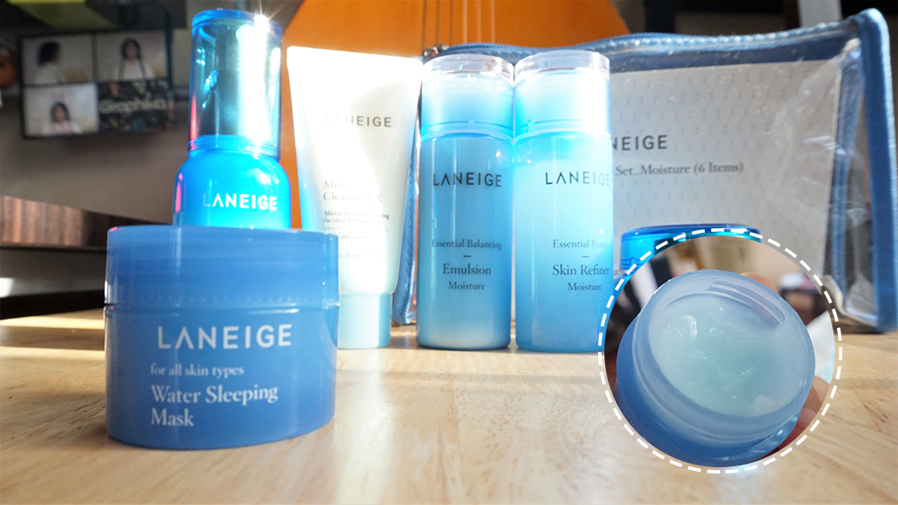 Laneige Essential Care Trial Set - Moisture