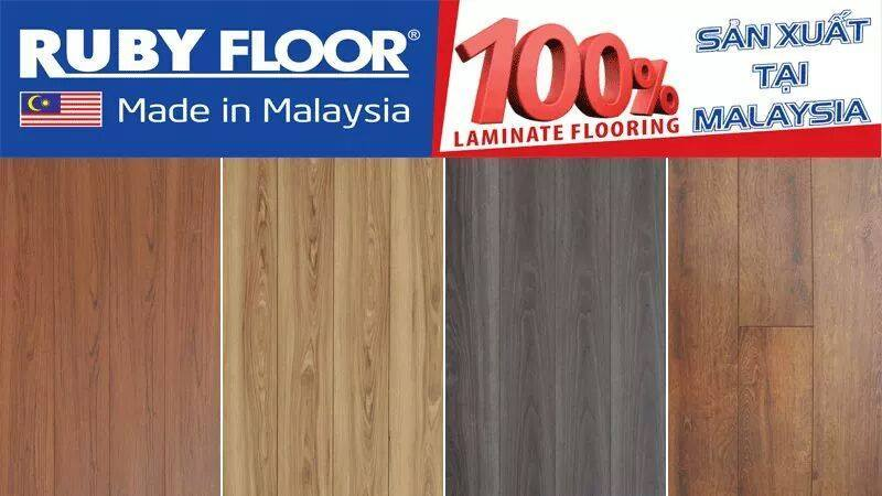 sàn gỗ ruby floor dòng sàn chịu nước