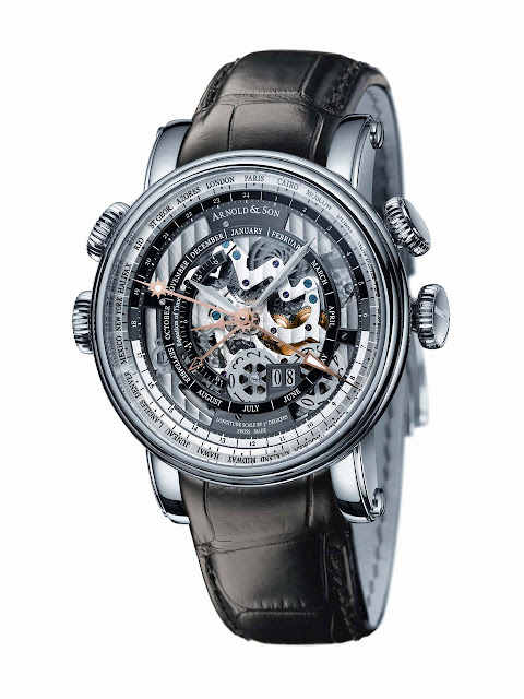 Arnold & Son - Hornet World Time Skeleton