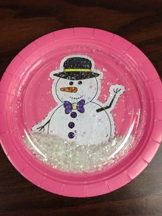 Snow Globe Project for Children