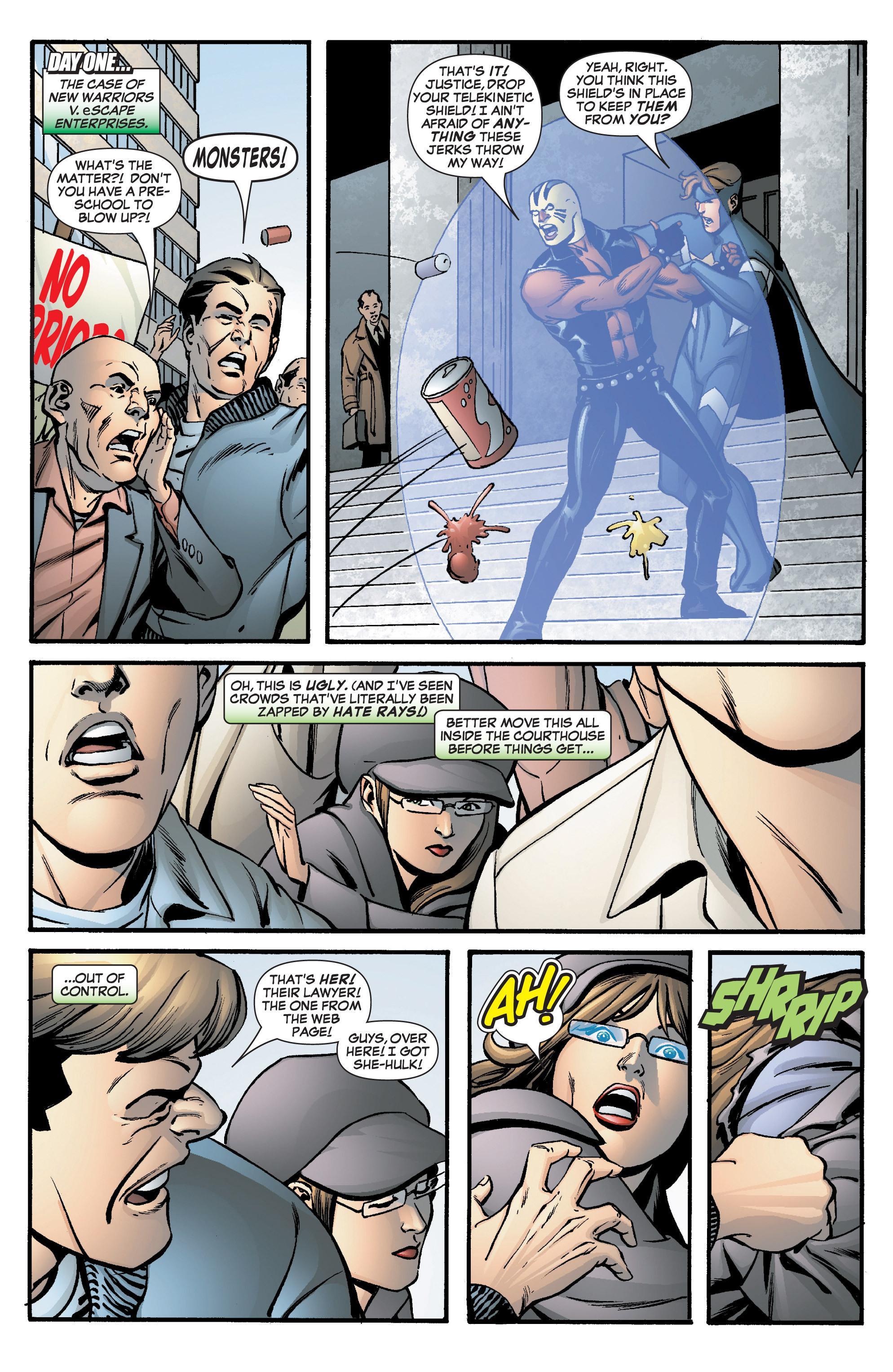 Read online She-Hulk (2005) comic -  Issue #8 - 13
