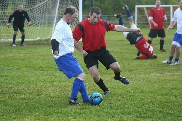 Funny Football Soccer Photo Bomb Image